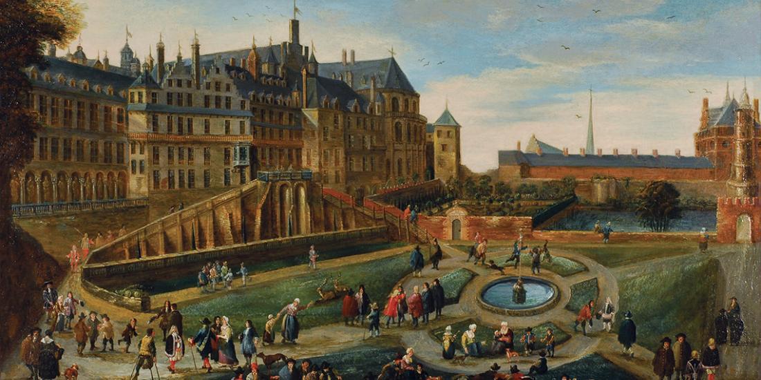 Palais du Coudenber avec Domus Isabellae