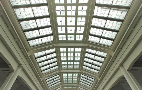 Plafond du Hall Horta