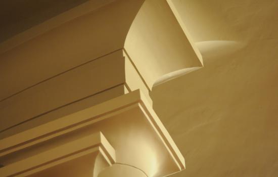 Détail du chapiteau d'un colonne du Palais de Beaux-Arts