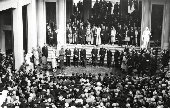 Inauguration du Palais des Beaux-Arts le 4 mai 1928