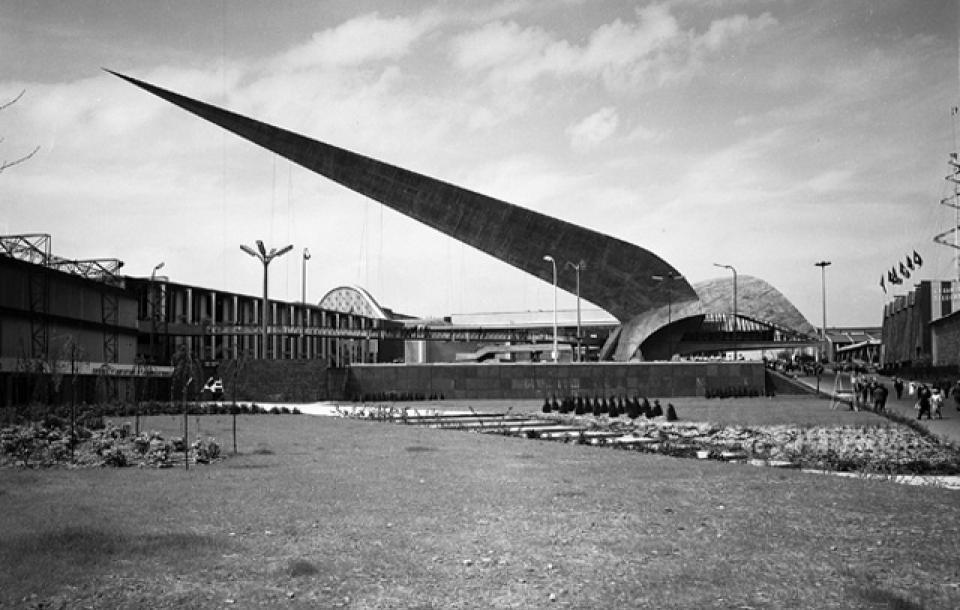Jacques Moeschal, De Pijl, EXPO 58