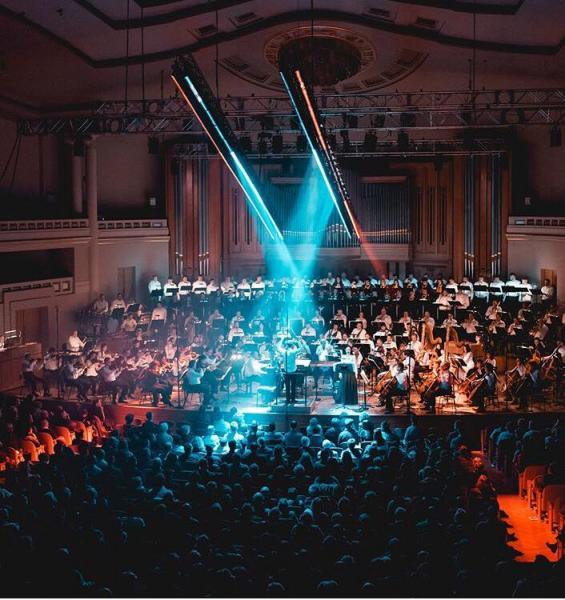 Le Belgian National Orchestra dans la Salle Henry Le Boeuf - Klarafestival 16 mars 2018