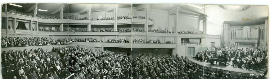 La Salle Henry Le Boeuf dans les années 1940