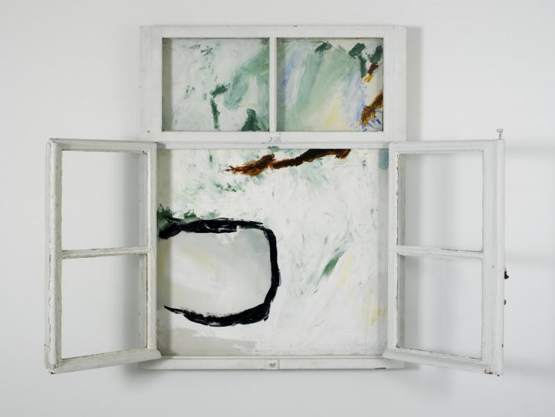 Roger Raveel, Het venster, 1962