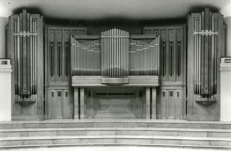 L'orgue en 1935