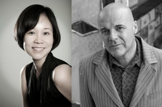 Hiroko Fukushima and Philip Defrancq