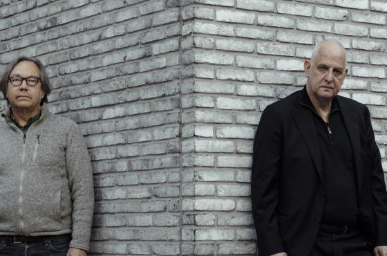 AI researcher Luc Steels & Luc Tuymans