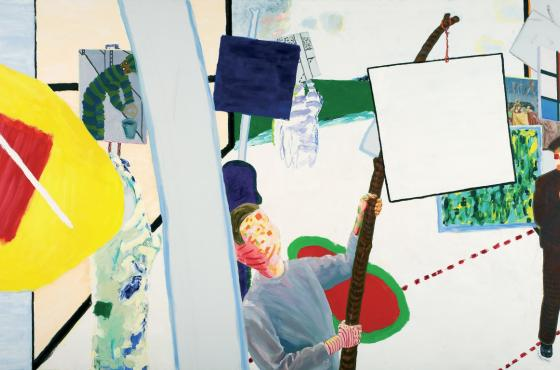 Roger Raveel, The Parade of Paintings from 1978 in Machelen