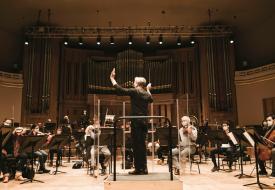 répétition du Belgian national orchestra